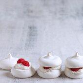 Merveilleux with raspberries