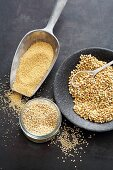 Pseudocereals (amaranth, quinoa and buckwheat)