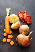 Vegetables to add flavour to bread