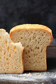 Homemade toast bread
