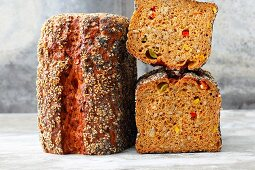 Spicy vegetable bread