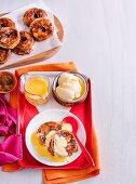 Chai Spiced Apple Filo Stacks