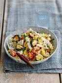 Rainbow couscous Salad