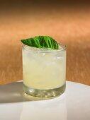 A lemon drop cocktail
