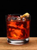 A Negroni cocktail with Campari