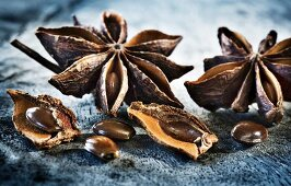 Star anise (close-up)