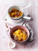 Buckwheat porridge with orange compote (Sirtfood)