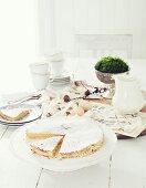 Lemon cake for Easter
