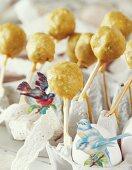 Cake pops for Easter