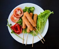 Thai fried tofu appetisers