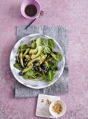 A spinach, avocado, and blueberry salad - 'Olivia's Green Secret'