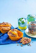 Crunchy Mango and Muesli Muffins