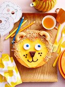Leo the lion cub cake
