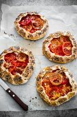 Tomato and ricotta galettes