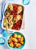 Italian Chicken with lemons