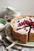 Berry torte (red currant cake, Swabia, Germany)