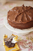 Chocolate fudge cake (afternoon tea)