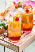 Tequila Sunset Jellies