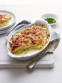 Creamy Potato and Bacon Bake