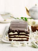 Decadent Minted Chocolate Cake
