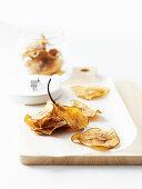 Dried Pear Crisps