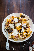 Pappardelle with game ragout