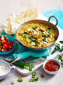 Dhal with Chicken
