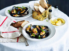 Provencale mussels