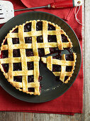 Black and Blue Berry Pie