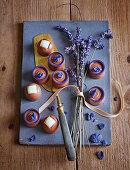 Lavender pralines and Grand Marnier truffles