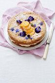 Orange Blossom and Mandarin Almond Cake