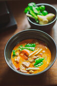 Tom Kha Gung (coconut soup with shrimps, Thailand)