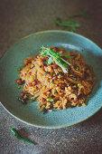 Yam Naem (rice salad, Thailand)