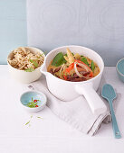 Low-calorie Thai curry with beef
