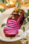 Goats cheese and Beetroot Terrine