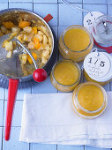 Apple and mango sauce
