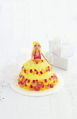 Child's cake: Hawaiian hula girl