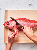 Einen Fisch filetieren