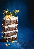 Sticky date celebration cake