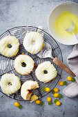 Pineapple doughnuts