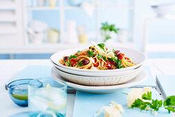 Spaghetti Puttanesca (Italien)