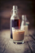 Cold Brew made with almond milk
