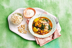 Cauliflower indian curry