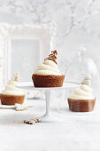 Gingerbread eggnog cups