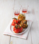 Neapolitan Stuffed Sweet Peppers