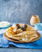 Lavash with brown butter