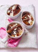 Small Chocolate Bread & Butter Pudding