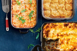 Three lasagna variations