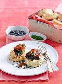 Gluten-free potato scones