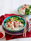 Hainese chicken rice